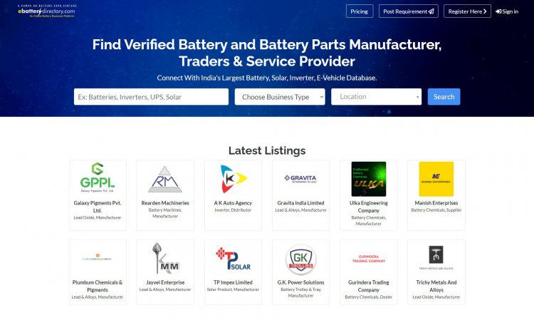 Reasons Your Battery Business Must Have An Online Presence in 2021